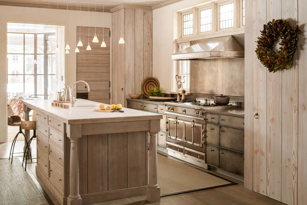"""Most of the materials used in the home of Jennifer King and Tim Fredel are custom, even proprietary. """"You aren't buying this stuff off the shelf,"""" says lead builder Geoff Bowley. """"The kitchen cabinets are a great example. Each one was hand rubbed to exact specifications."""""""