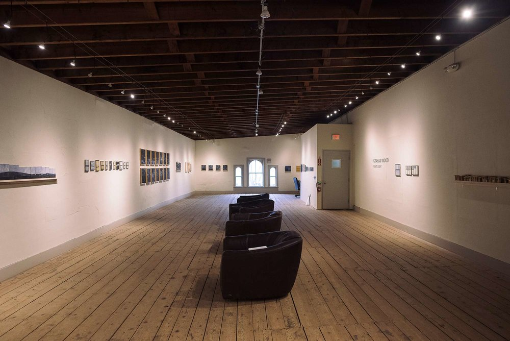 The Frank Brockman Gallery is up on the third floor of 68 Maine Street.