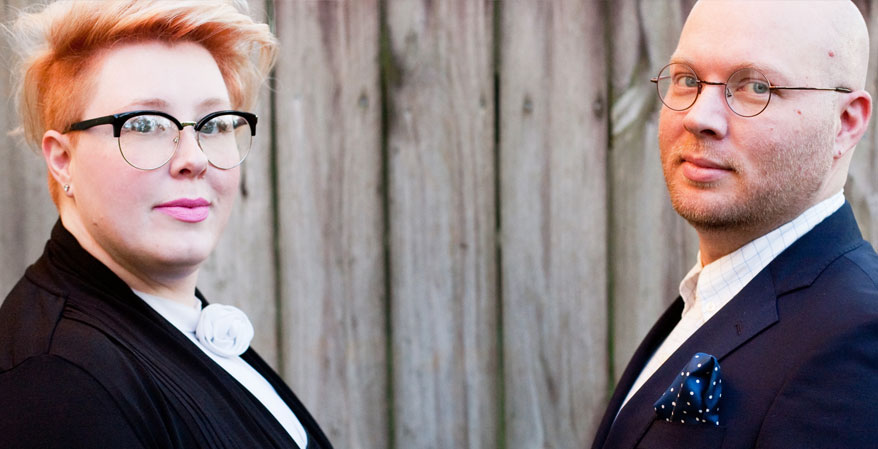 Adam and Katie Wright, Owners of    Dream State Salon   , Tallahassee, FL