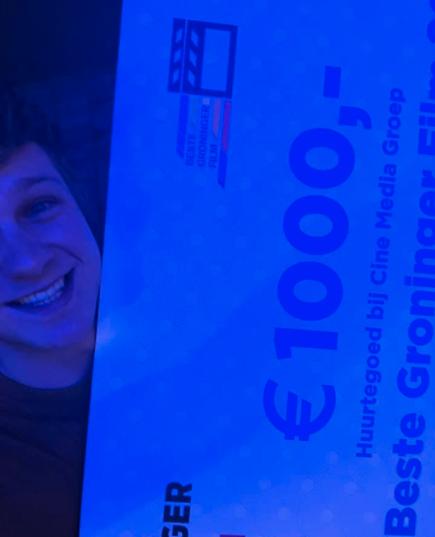 KIND WINS BEST GRONINGER FILM - Jorem Molter wins Best Groningen Film for KIND! We congratulate all cast and crew!