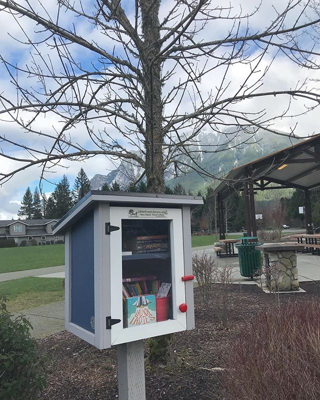 We got a chance to leave a few copies of #launchladies across the state of Washington. We stocked a handful of Little Free Libraries in North Bend, Snoqualmie and Leavenworth.