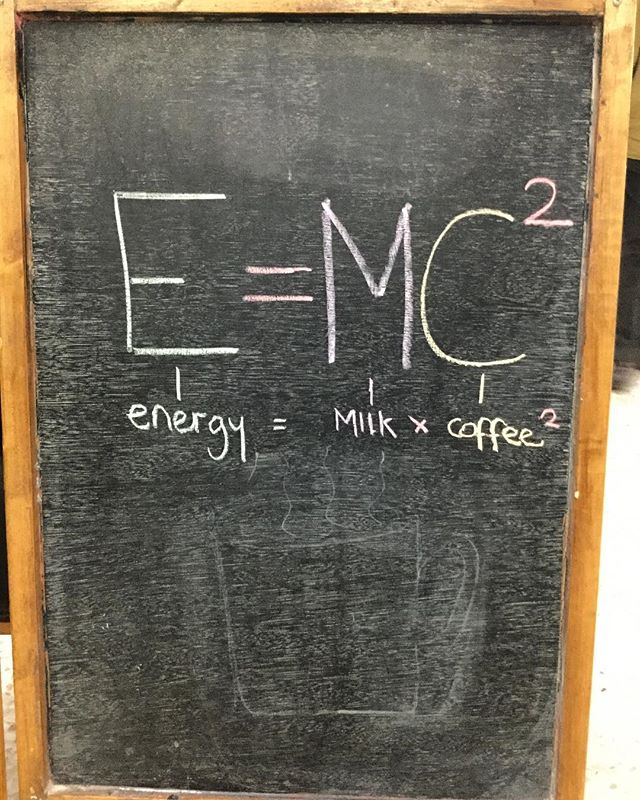 Basic science to help with your Monday morning!  #portsmouth #southsea #socent #aboard #qotd #barista #baristas #baristalife #canvas #coffee #canvascoffee #specialitycoffee