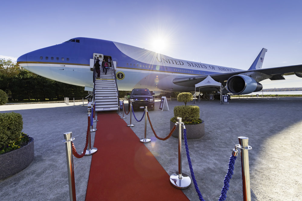 0ff319f38 The Air Force One Experience Open for school groups only by appointment .