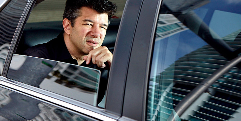 Ex-Uber CEO Travis Kalanick, who resigned recently following a string of scandals for the company, including sexual harassment.