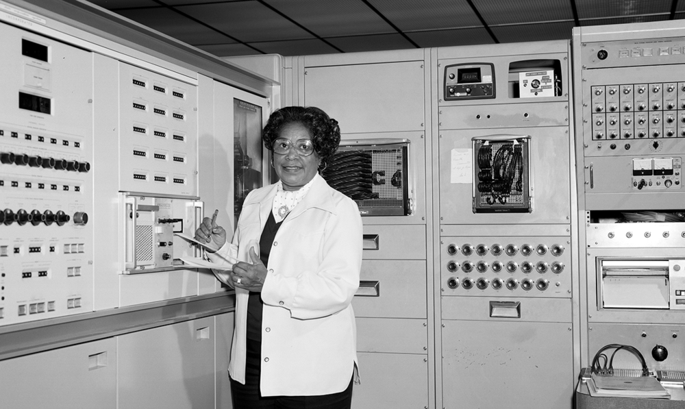 Dorothy Vaughan - NASA's first female supervisor, and one of many female professionals critical to the Apollo space programme.