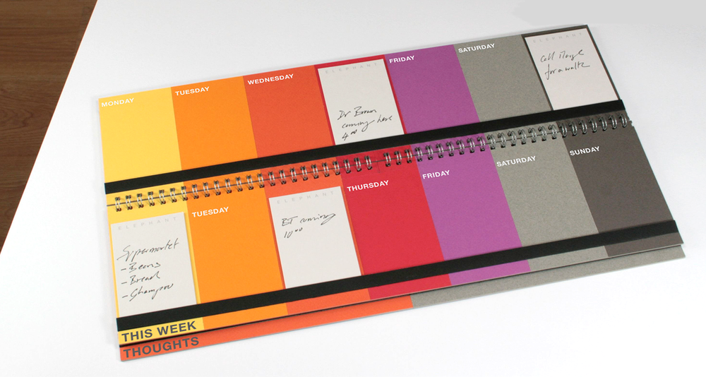 Planning and orientation needs a real location, or 'anchor.' The planner lives in a specific location in the home and aids use with simplified layout, language and use of colour. The visible time span focuses on a manageable, two week period