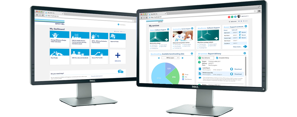 Before and after: Drawing customers to the My DNV GL dashboard with high value, rich content