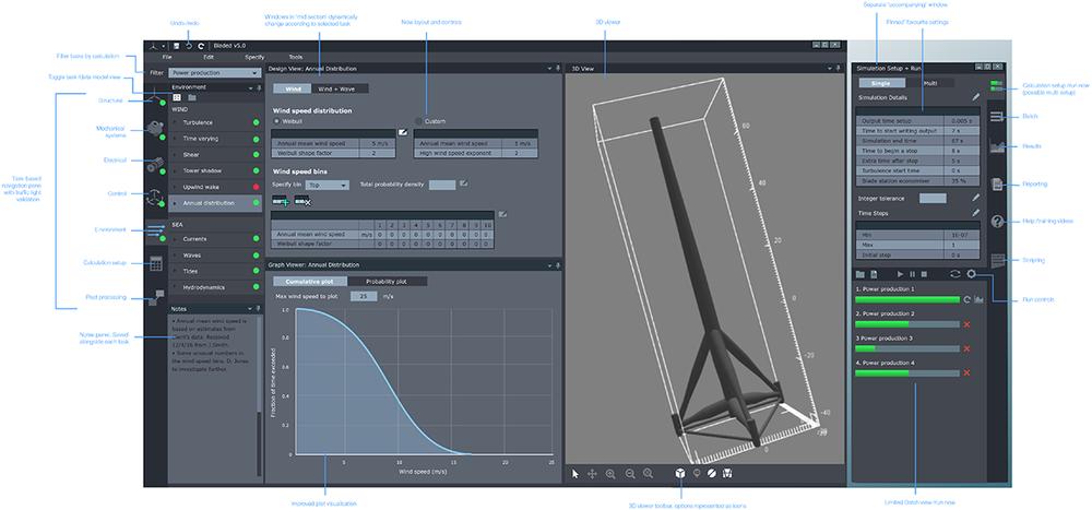 Illustrator UI mockup demonstrating a more modern visual design for the UI