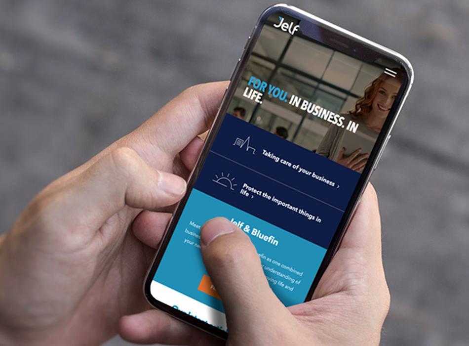 Jelf Insurance:  Digital Transformation project
