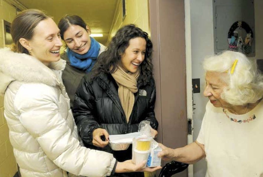 """City Meals on Wheels - """"Citymeals delivers weekend, holiday and emergency meals to frail aged New Yorkers, ensuring they never go a day without a nutritious meal and a warm visit."""""""
