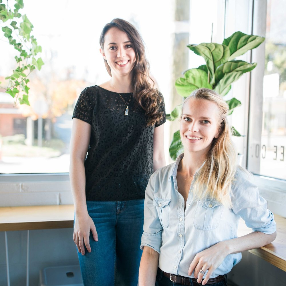 The Studio Source co-founders,  Lindsay Emery  &  Allie Dattilio