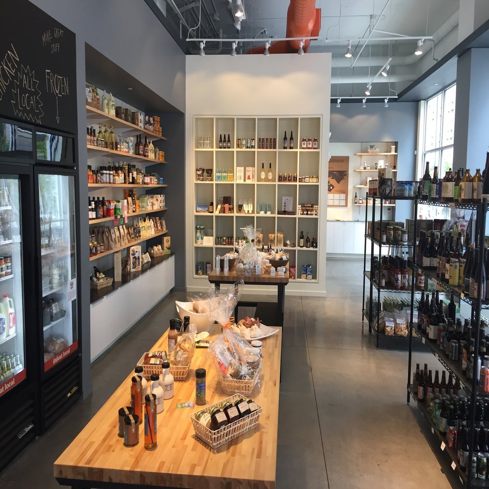Raleigh Provisions - A North Carolina gourmet food & gift shop.107 E Davie St.