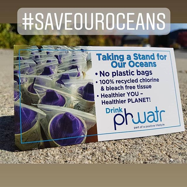 Out of respect for our planet, where ver possible, phwatr has stopped wrapping our products in plastic. We hope you will dhare our vision for cleaner oceans and a healthier planet. #phwatr #alkalineantioxidantwater  #phwatrfilters #goodwaterisgoodhealth