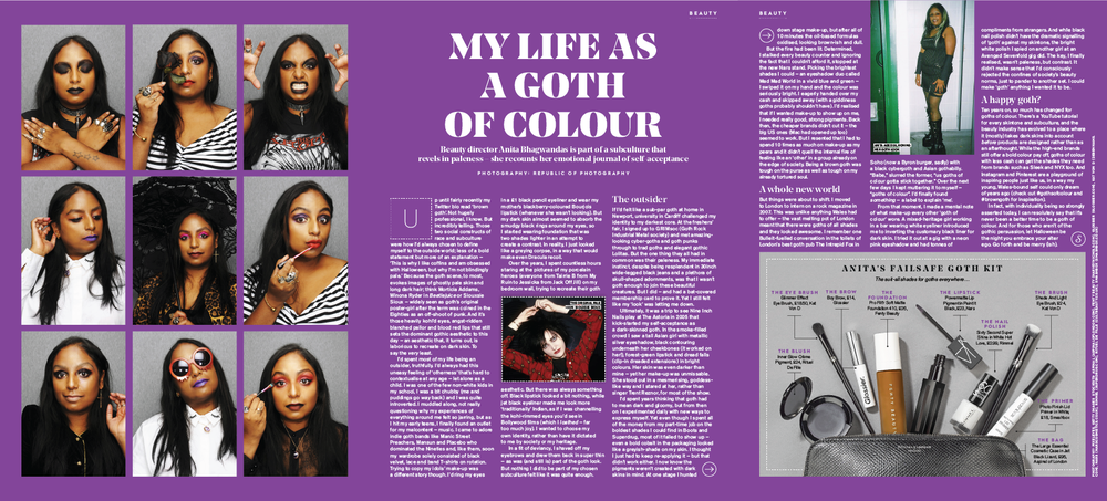 STYLIST - MY LIFE AS A GOTH OF COLOUR
