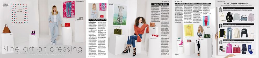 STYLIST FASHION ISSUE SS19 - THE ART OF DRESSING