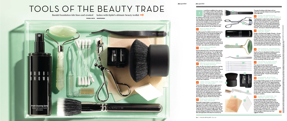 STYLIST - TOOLS OF THE BEAUTY TRADE