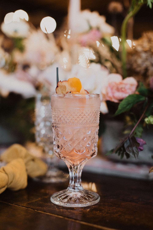 Gorgeous Pink Wedding Cocktail