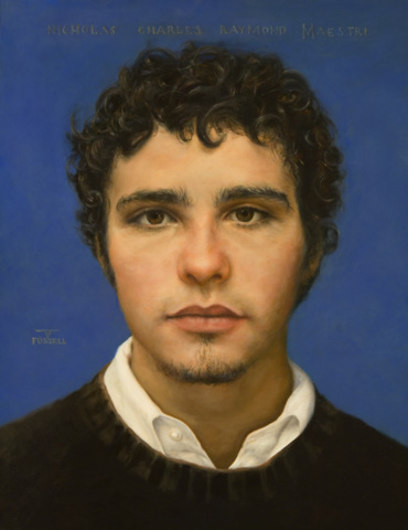Portrait of Nick Maestri Oil on Prepared Panel 13x10in 2005.jpg