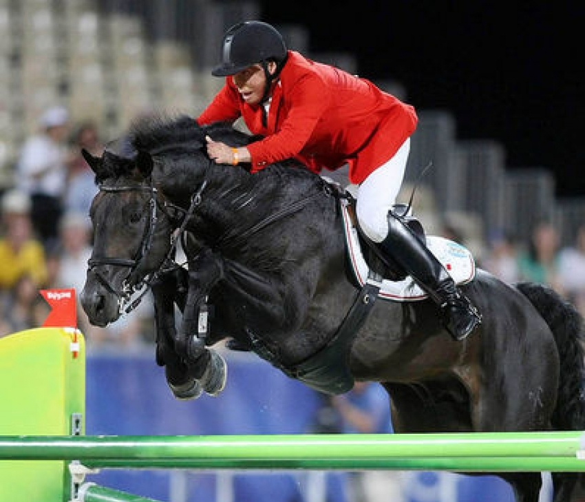 RELEVANTUS - SOLD TO MEXICO AND RIDDEN BY FREDERICO FERNANDESCOMPETED AT THE 2008 OLYMPICS IN HONG KONG