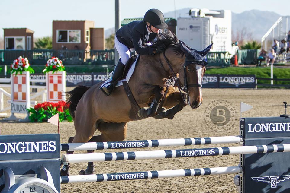 PARETTE - COMPETING SUCCESSFULLY FOR CANADA AT CSI5* LEVEL