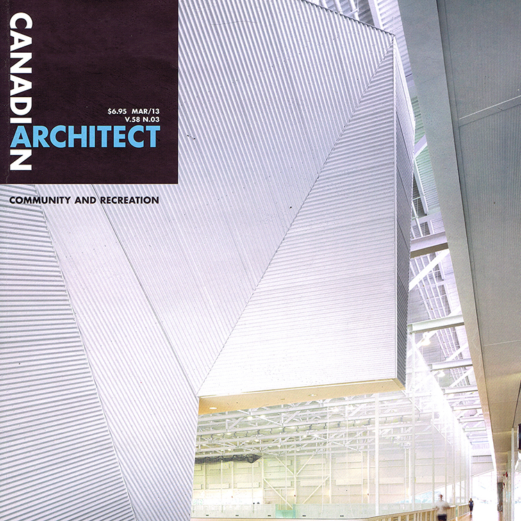 WORK S72: Canadian Arch. 2013