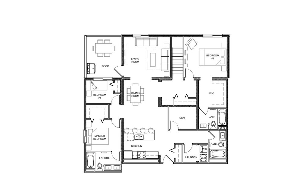 Town House - Upper Level