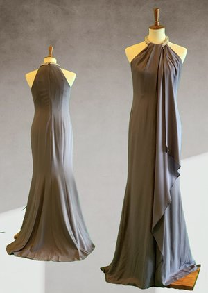 c89adb75227d AIDAN MATTOX Maxi Crepe Dress ...