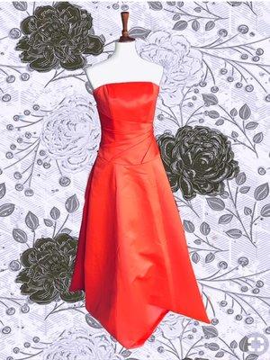 4928ed03f38e MONIQUE LHUILLIER maxi satin strapless dress ...
