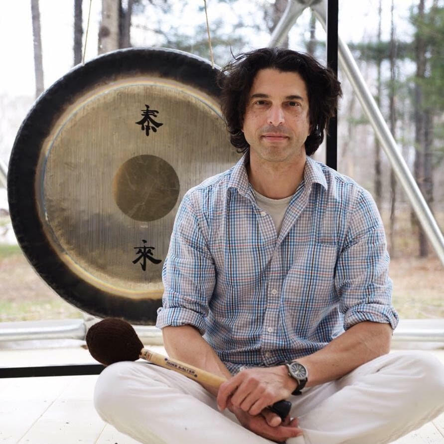 - Marc SwitkoMarc will treat us to an outdoor sound bath as we are embraced by the sounds of the Gong. Marc has been exploring the far reaches of gong playing as a therapeutic, meditative, and performance modality for individuals and groups with solid results. Through is meditation classes and his work as a psychotherapist, he has found that gong music is an empowering, healing tool, helping us move into a physically and energetically relaxed state.He participated in an intensive certification residency in Fall 2016, studying Gong for use in both healing and performing modalities with Master Don Conreaux, one of the five original Kundalini yoga teachers designated by Yogi Bhajan in 1969.