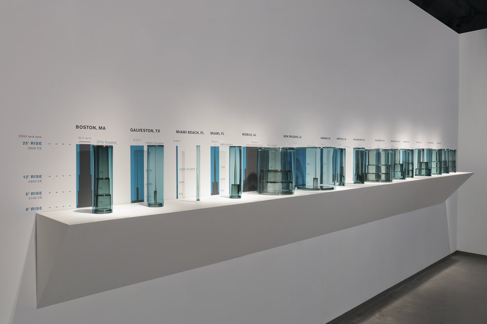 Cities Underwater (installation view)