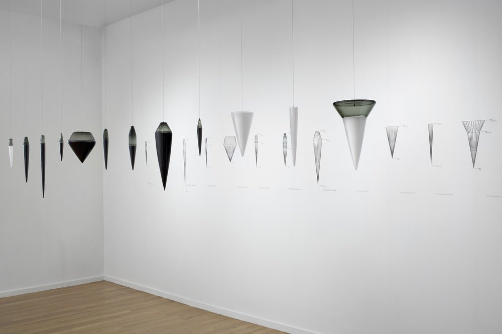 Cities: Departure and Deviation - Atlanta through Indianapolis (installation view)