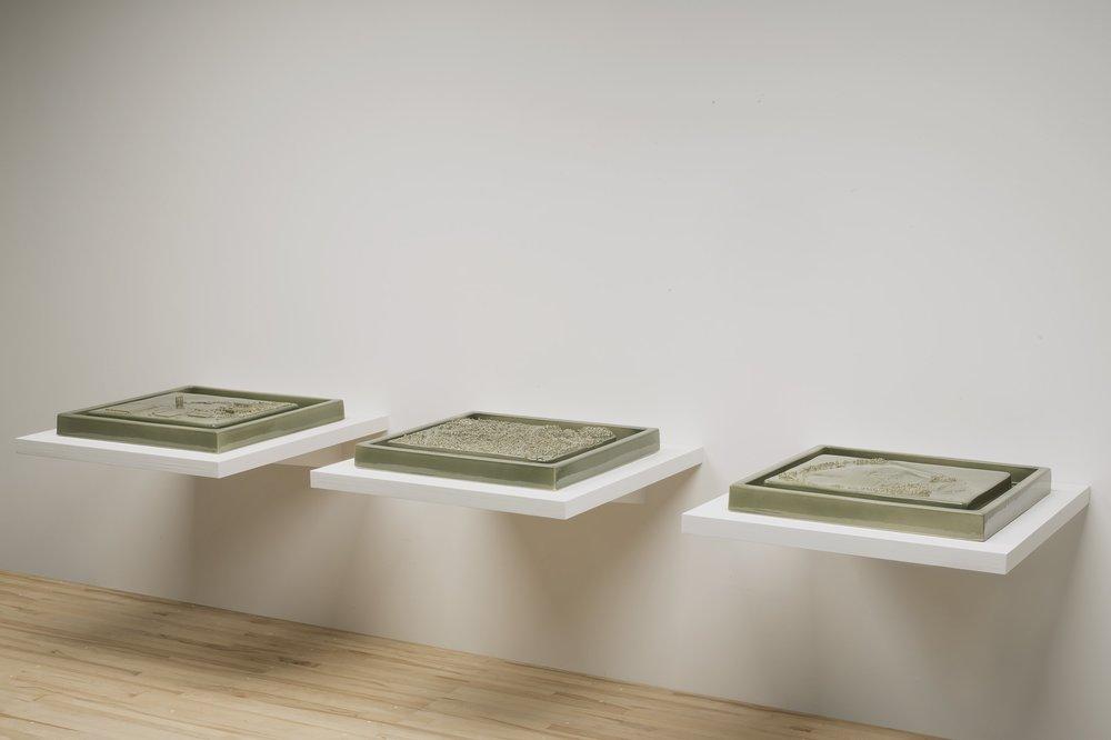 Kohler Triptych Green