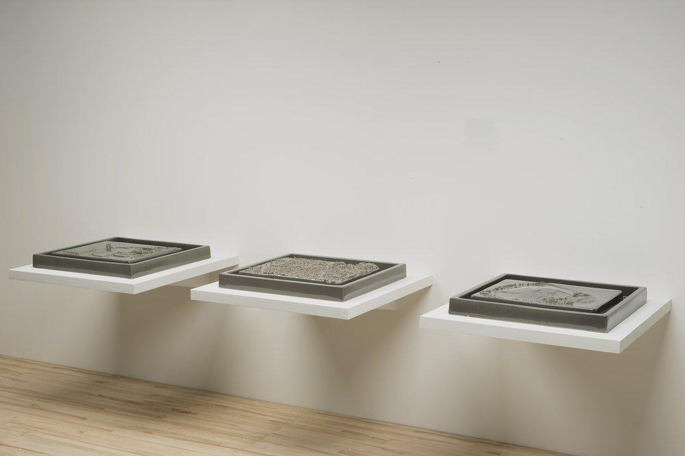 Kohler Triptych Gray
