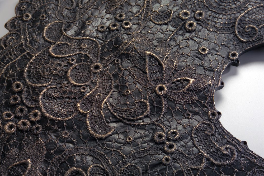 First Generation Artifact: Tatted Lace Collar (detail)