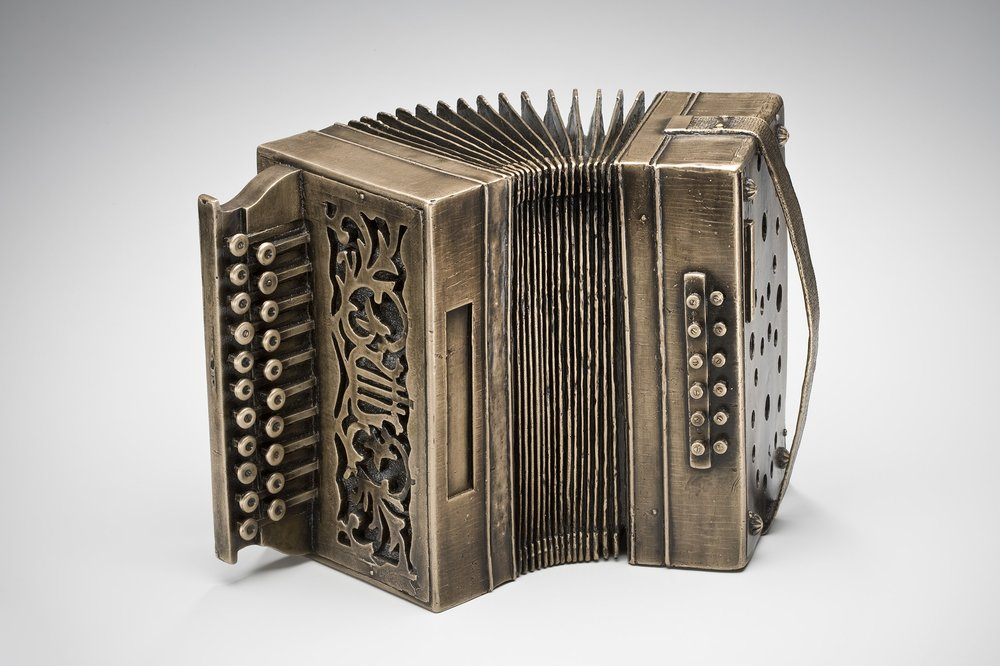 First Generation Artifact: Button-Box Accordion