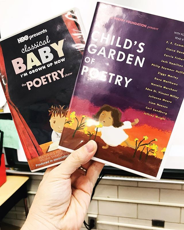 I use these videos each year to start our Poetry unit in my second grade class.  They were created by @hbo and feature animated poems read by actors, actresses, or the poets themselves. In between the poems are clips of children talking about their love of poetry and explaining how they understand it.  These videos are amazing, and we revisit parts of them throughout our unit. We watch the animated clips, then read the actual poems, discuss the meaning, watch the clips again, read the poems again, and just keep going deeper and deeper into the comprehension and poetry appreciation.  What resources do you use to develop poetry understanding and proficiency with your students?  #readingteacher #poetryappreciation #teachersofinsta #teachersofinstagram #iteach2nd #secondgrade #literacyresources #iteachreading