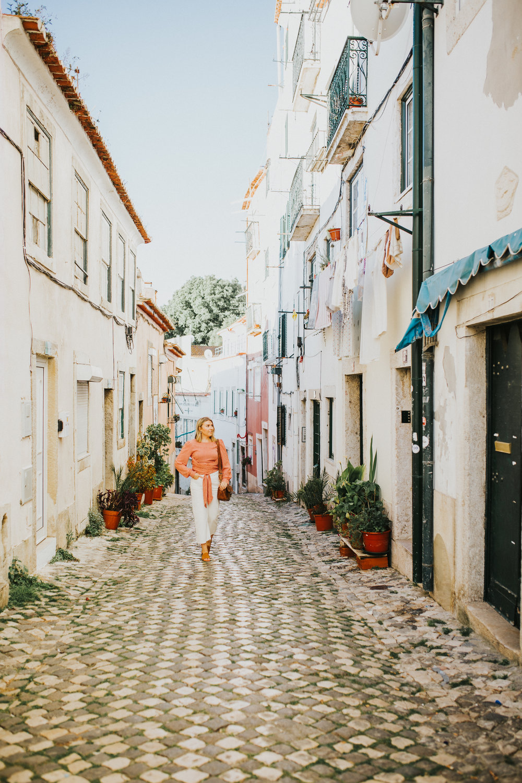 Alfama neighborhood in Lisbon