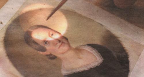 Restoring portrait miniatures is a specialty of Wiebold Studio.