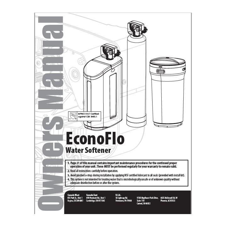 EconoFlo Manual