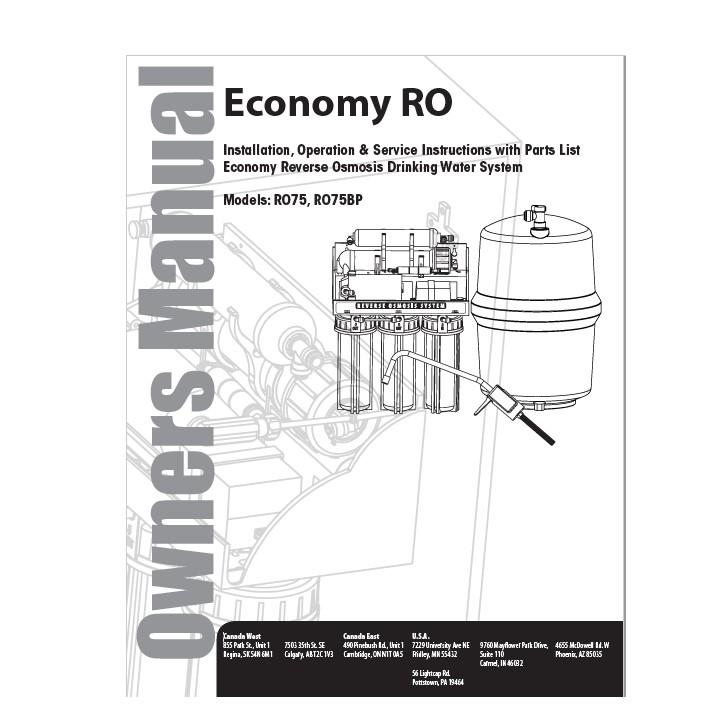 Economy RO Manual