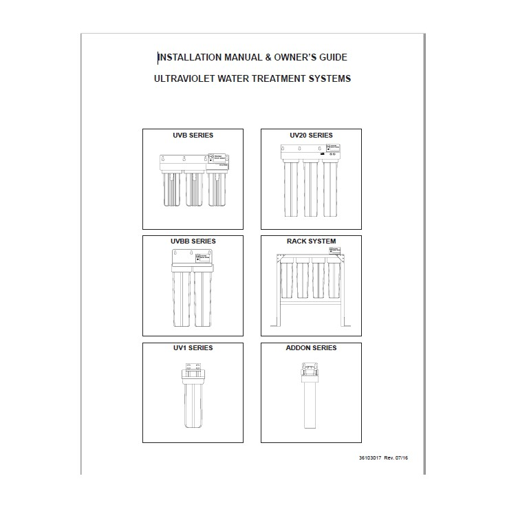 UV Add-on Manual