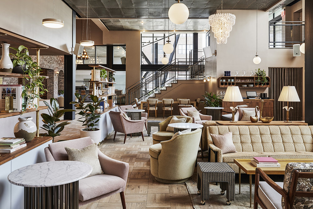 The lobby - where local creatives hang out