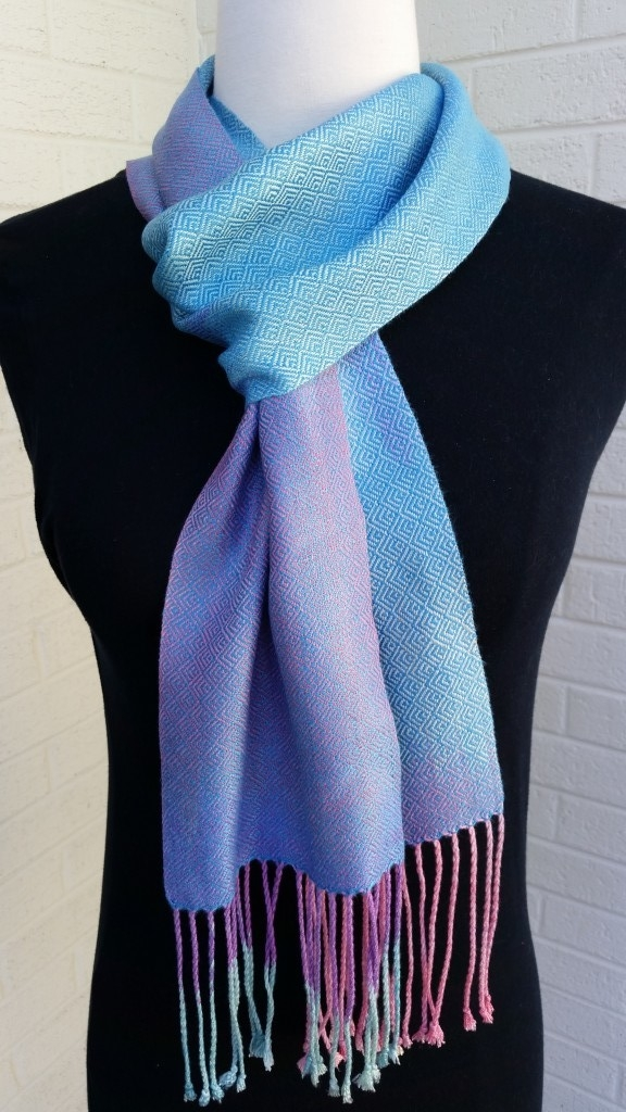 Hand painted and handwoven in bamboo