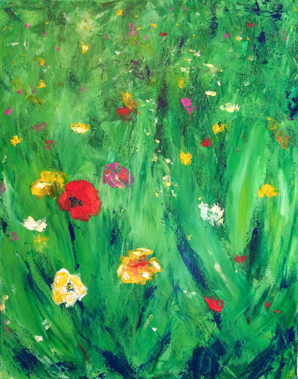 POPPIES(SOLD)