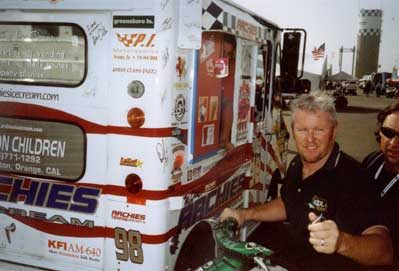 Paul Tracy - Indie Race Car Driver
