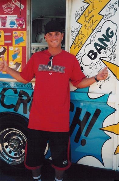 Pro Wakeboarder Shaun Murray