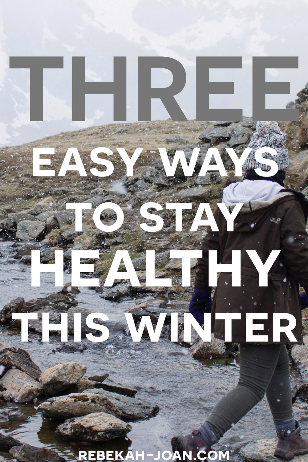 - Don't let the winter blues get you down. When the cold weather hits, it's important to keep up on your health.