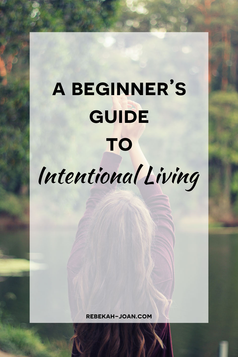 - Living with glazed-over, bored eyes and no goals is a terrible way to go through life. So what can you change? Learn how to live intentionally so that you can live a fulfilling life.