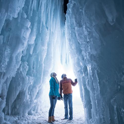 Ice Canyons
