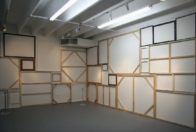 Absenteeism | Dimensions Variable 2010| installation view
